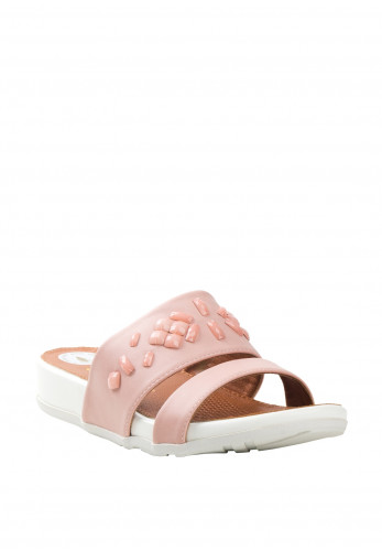 Zanni Shapes Crystal Sandals, Pink