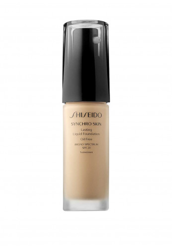 Shiseido Synchro Skin Lasting Liquid Foundation, Broad Spectrum SPF 20, Natural 1
