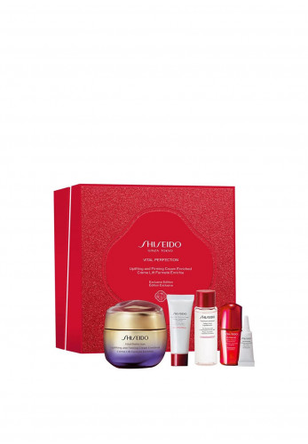 Shiseido Vital Perfection Uplifting and Firming Cream Enriched Gift Set