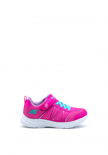 Skechers Girls S-Lights Glimmer Kicks Trainers, Pink