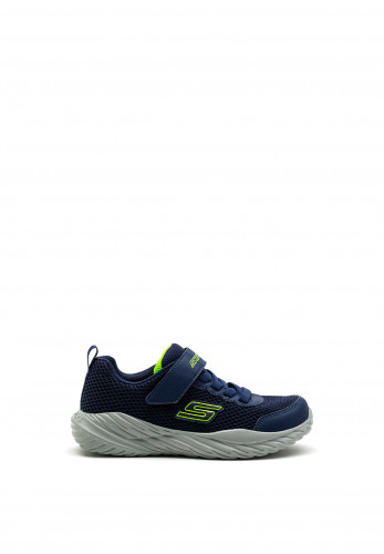 Skechers Boys Nitro Sprint Trainers, Navy