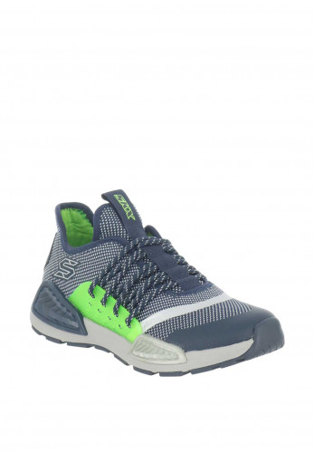Skechers Boys Memory Trainers, Navy