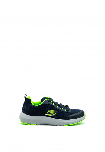 Skechers Boys Dynamic Tread Trainers, Navy