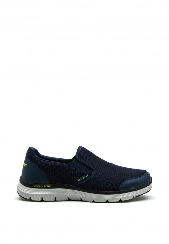 Skechers Flex Advantage 4.0 Slip On Trainers, Navy