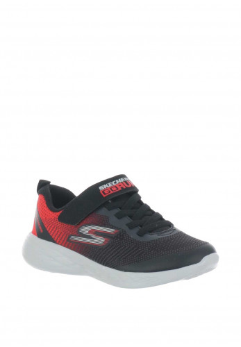 Skechers Boys Go Run Trainers, Black
