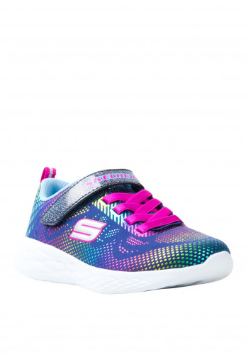 Skechers Girls Printed Velcro Trainers, Multi-Coloured