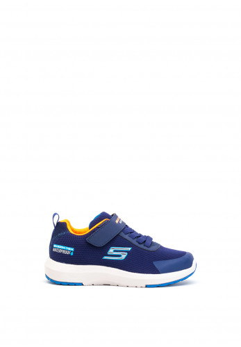 Skechers Boys Skech-Tech Waterproof Trainers, Navy Multi