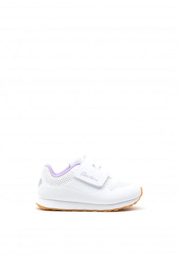 Skechers Girls Retro Sneakers, White