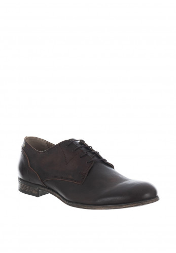 Sneaky Steve Dirty Leather Shoe, Brown