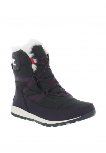 Sorel Whitney Waterproof Boots, Grey and Purple
