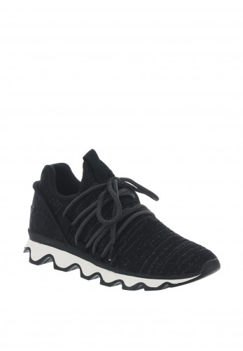 Sorel Kinetic Lace Knit Trainers, Black