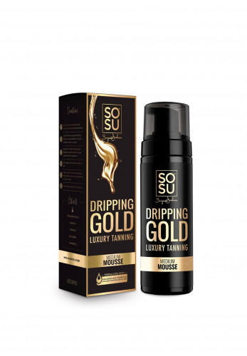 SOSU Dripping Gold Luxury Tan, Medium Mousse 150ml