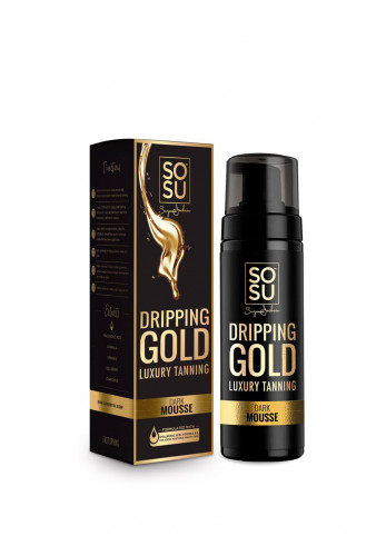 SOSU Dripping Gold Luxury Tan, Dark Mousse 150ml