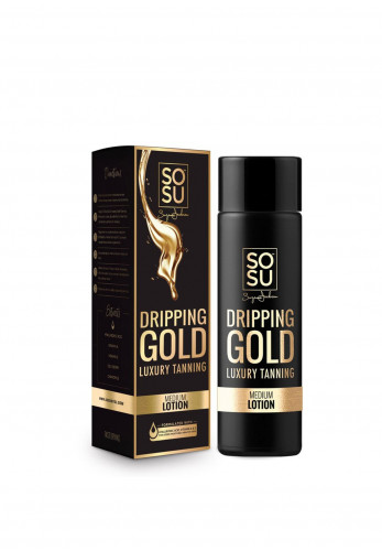 SOSU Dripping Gold Luxury Tan, Medium Lotion 200ml
