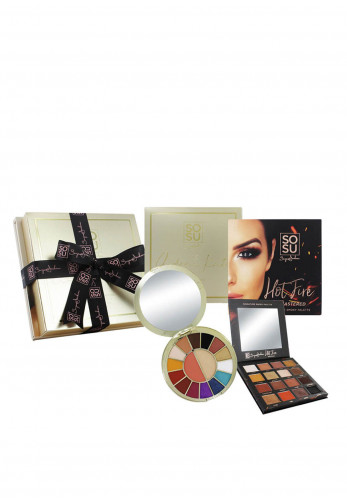 SoSu Aideen Kate & Hot Fire Double Palette Set
