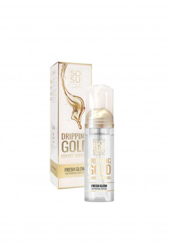 SoSu Dripping Gold Fresh Glow Tan Removal Mousse, 150ml