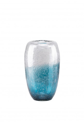 South Row Bubble Glass Vase, 34cm