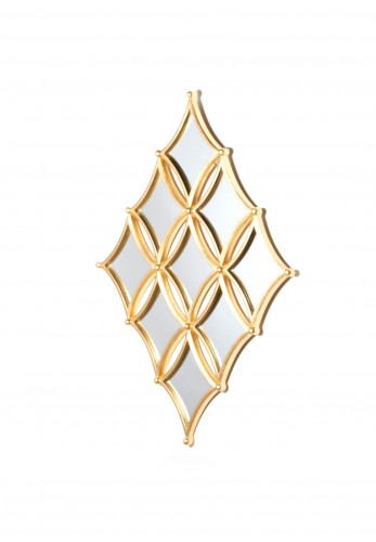 South Row Penzance Diamond 9 Mirror Wall Decor
