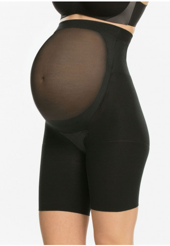 Spanx Mama High Waist Short Brief, Black