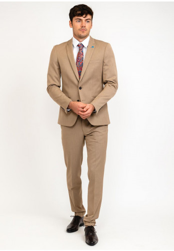 Spin Tyler Tailored Two Piece Suit, Beige