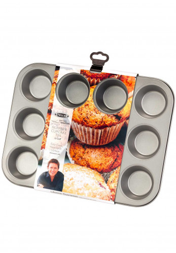 Stellar James Martin 12 Muffin & Cupcake Tin