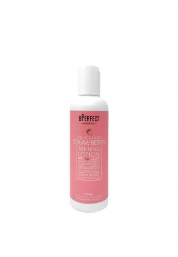 BPerfect 10 Second Strawberry Tanning Lotion, Dark