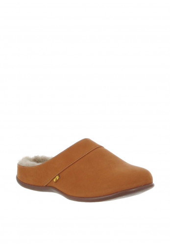 Strive Vienna Nubuck Leather Slippers, Tan