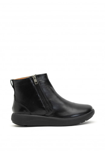 Strive Bamford Leather Ankle Boots, Black