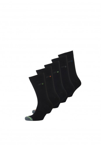 Superdry Men's 5 Pack Socks, Black