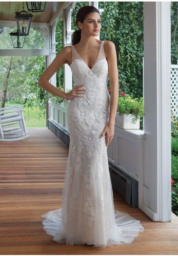 Sweetheart 11083 Wedding Dress, Sand/Ivory