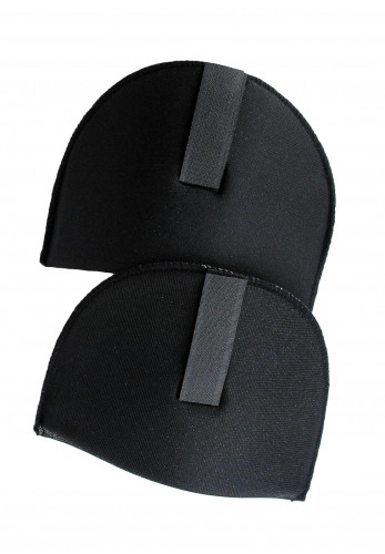 Shoulder Pads with Velcro, Black Large