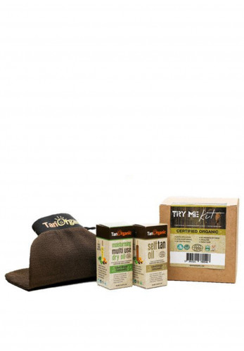 Tan Organic Try Me Kit