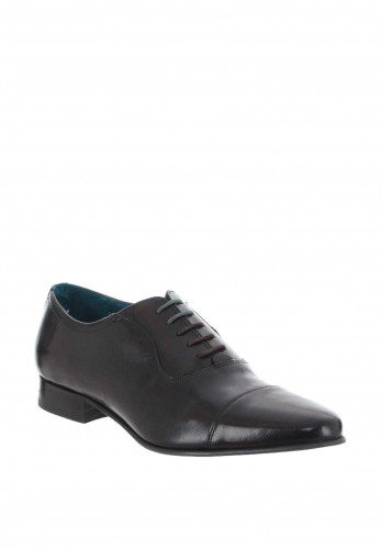 Ted Baker Leather Dress Shoe, Dark Brown