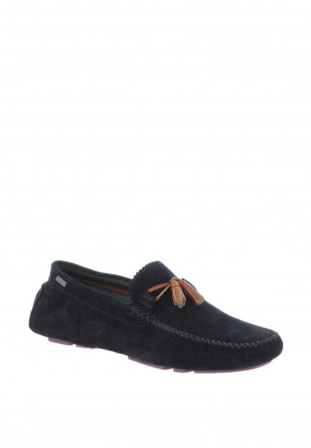 Ted Baker Suede Loafer Shoe, Navy