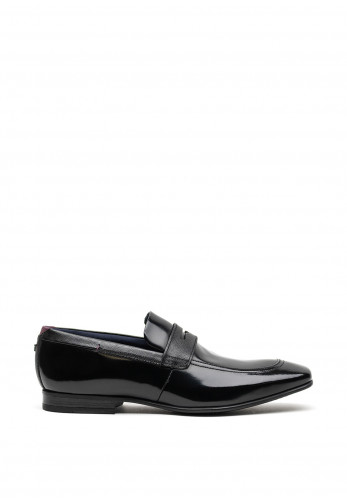Ted Baker Gaelhis High Shine Leather Loafer, Black
