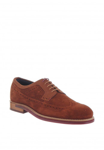 Ted Baker Classic Brogue Shoe, Tan
