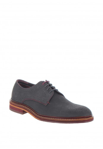 Ted Baker Zigee Leather Brogue, Grey