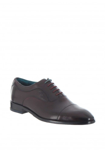 Ted Baker Oxford Leather Shoe, Wine