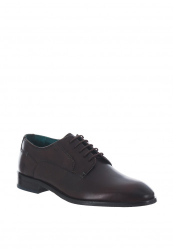 Ted Baker Parals Leather Derby Shoe, Brown