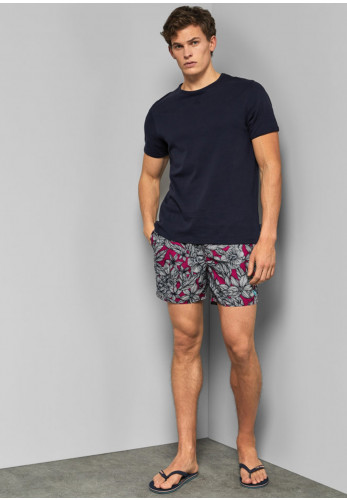 Ted Baker Floral Print Swim Shorts, Pink