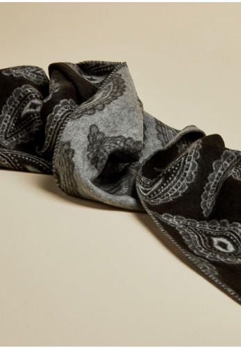 Ted Baker Paisley Scarf, Black