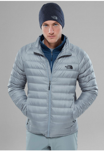 The Northface Men's Trevail Puffer Jacket, Grey