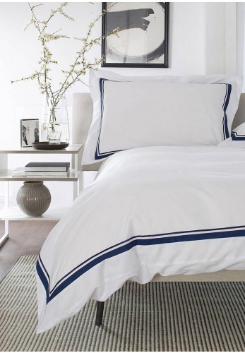 The Lydon Company St. John Duvet & Pillowcase Set, Navy