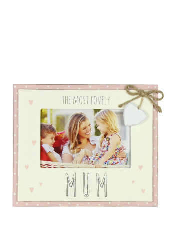 "The Most Lovely Mum 6"" x 4"" Photoframe"