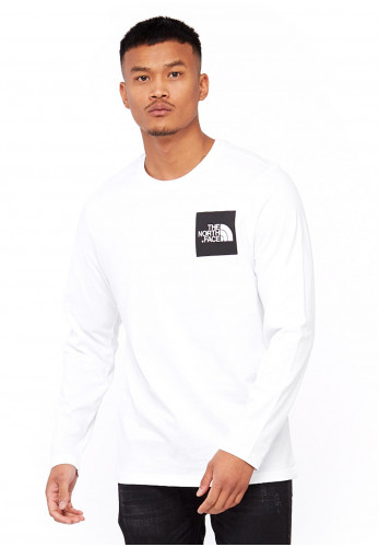 The North Face Fine Long-Sleeved T-Shirt, White