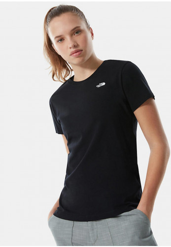 The North Face Women's Simple Dome T-shirt, Black