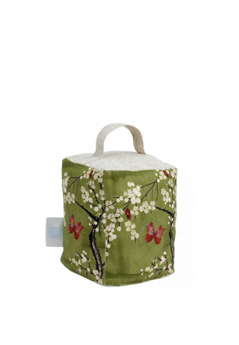 The Chateau Blossom Basil Doorstop, Green
