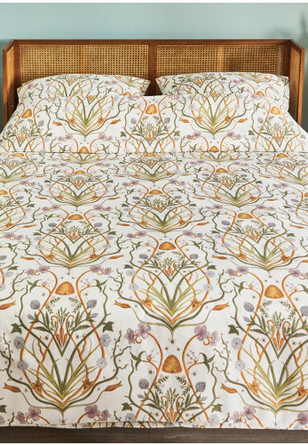 The Chateau Potagerie Duvet Cover & Pillowcase Set, Cream