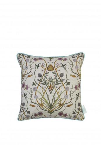 The Chateau Potagerie  Feather Rectangle Cushion, Linen