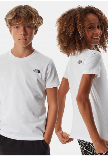 The North Face Kids Simple Dome T-Shirt, White